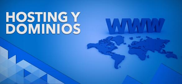 Servidores dedicados, hosting y dominios